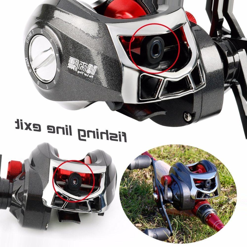 Sougayilang Baitcasting Reels 13BB Carp Fishing Gear Left/Right Hand Bait Carbon Fiber Casting Fishing Reels 8.5KG Max Drag Coil