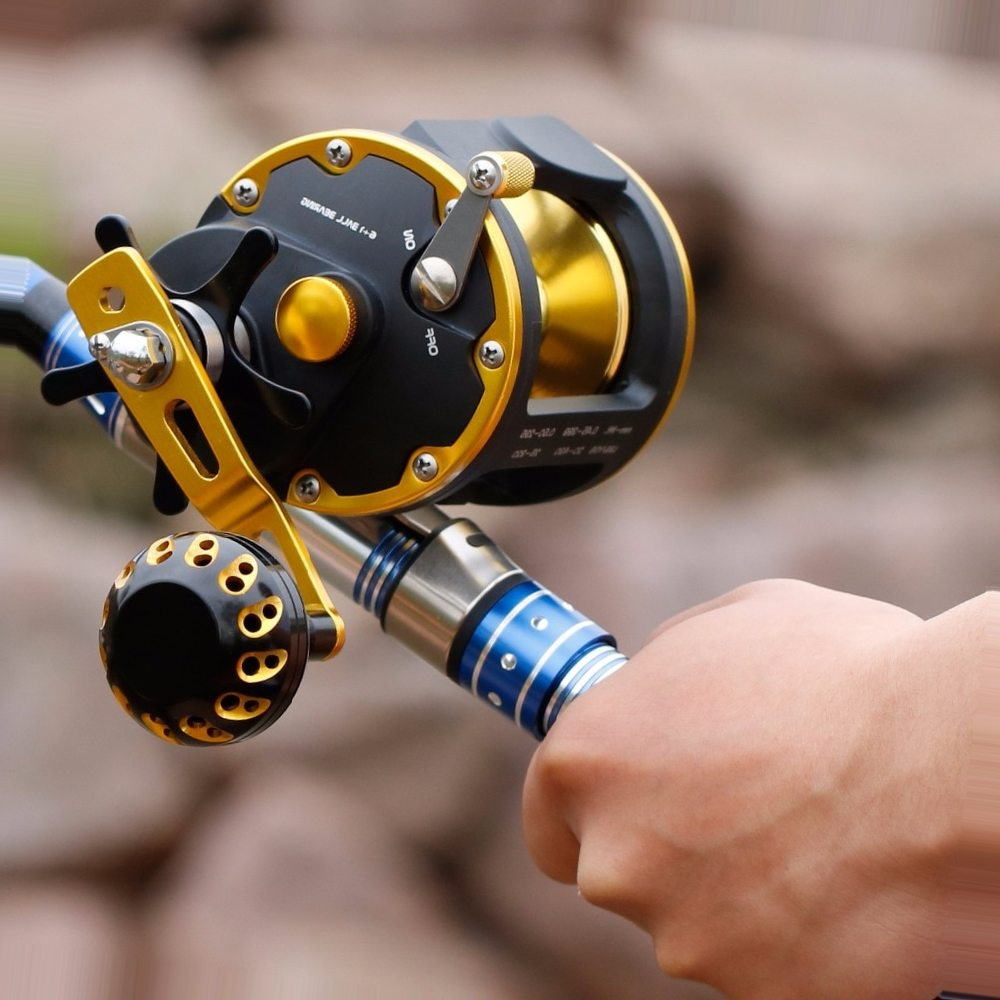 Sougayilang High Strong Trolling Fishing Reel Saltwater Sea Bait Casting Fishing Reels Spinning Reel Trolling Reel Max Drag 16kg