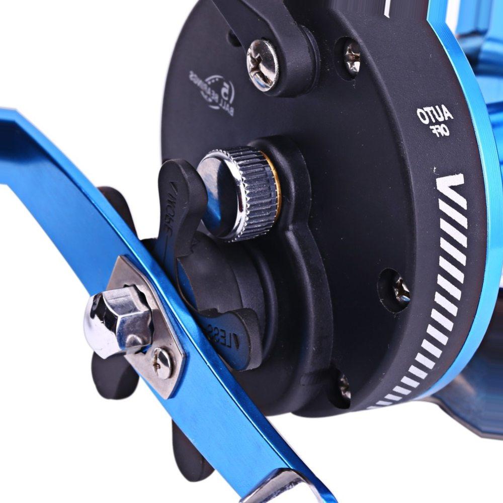 Sougayilang STH101AL Baitcasting Reel 5 Ball Bearings Carp Fishing Gear Bait Casting Fishing Reel Saltwater Fishing Reel Wheel