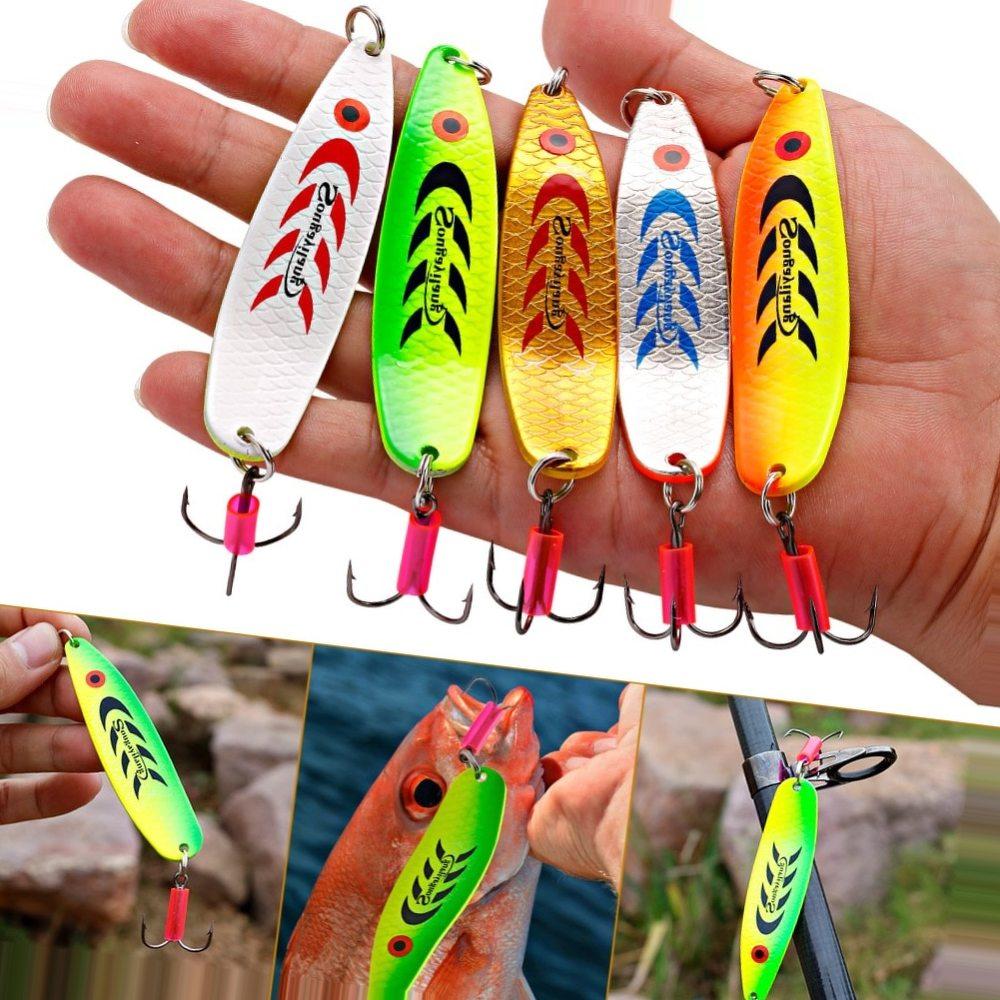 Sougayilang Telescopic Fishing Rod Spinning Fishing Reel PE Fishing Line Hook Lure Box As Gift Full Kit Rod Reel Line Combo Set