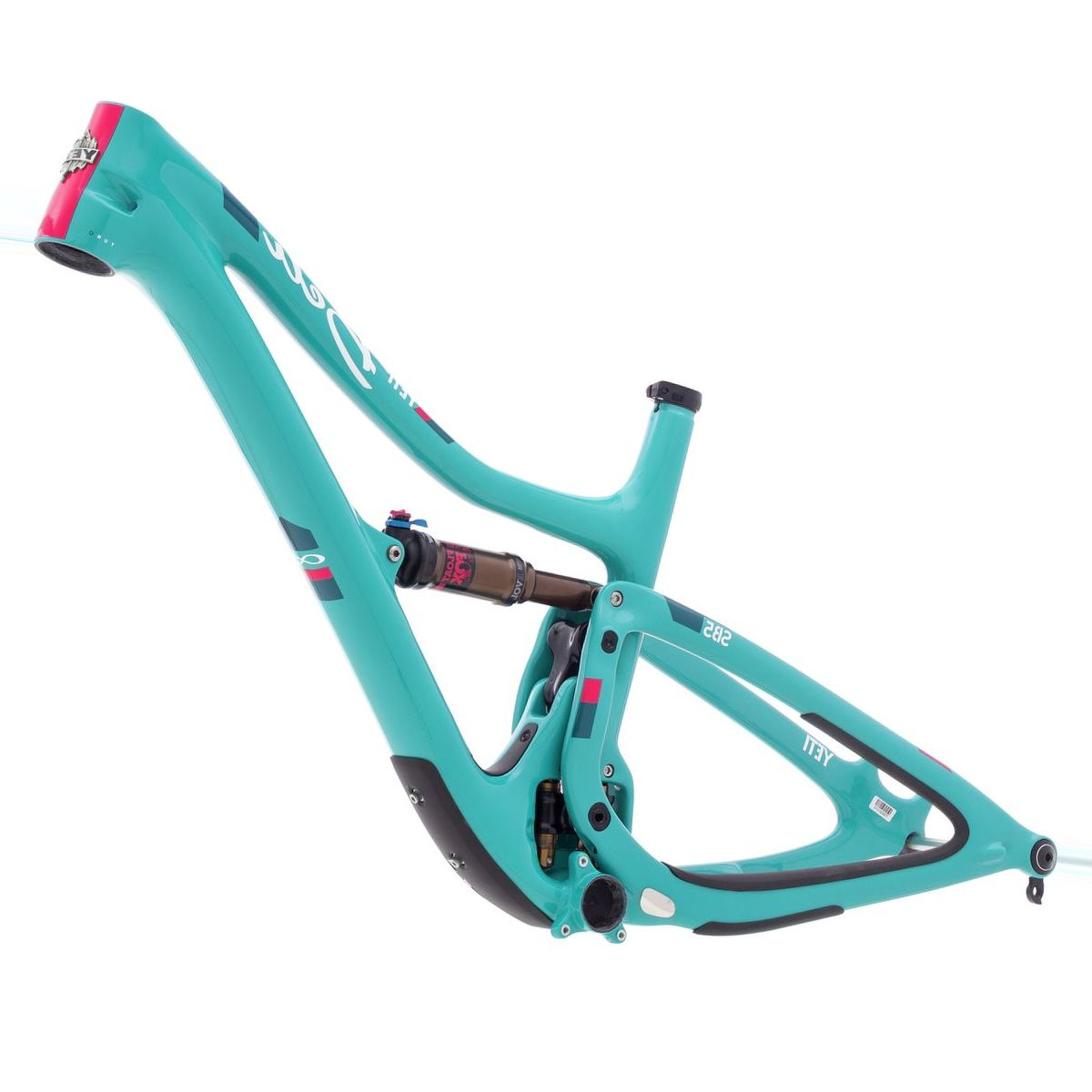 Yeti Cycles Beti SB5 Turq Mountain Bike Frame - 2018 - Women's