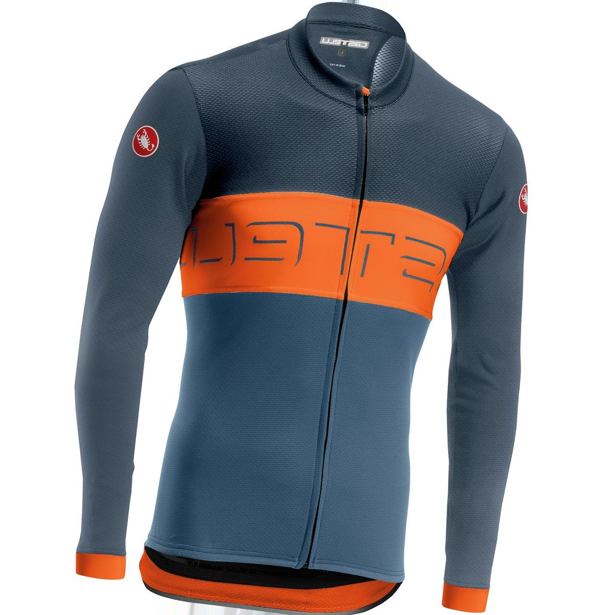 Castelli Prologo VI Long-Sleeve Full-Zip Jersey - Men's