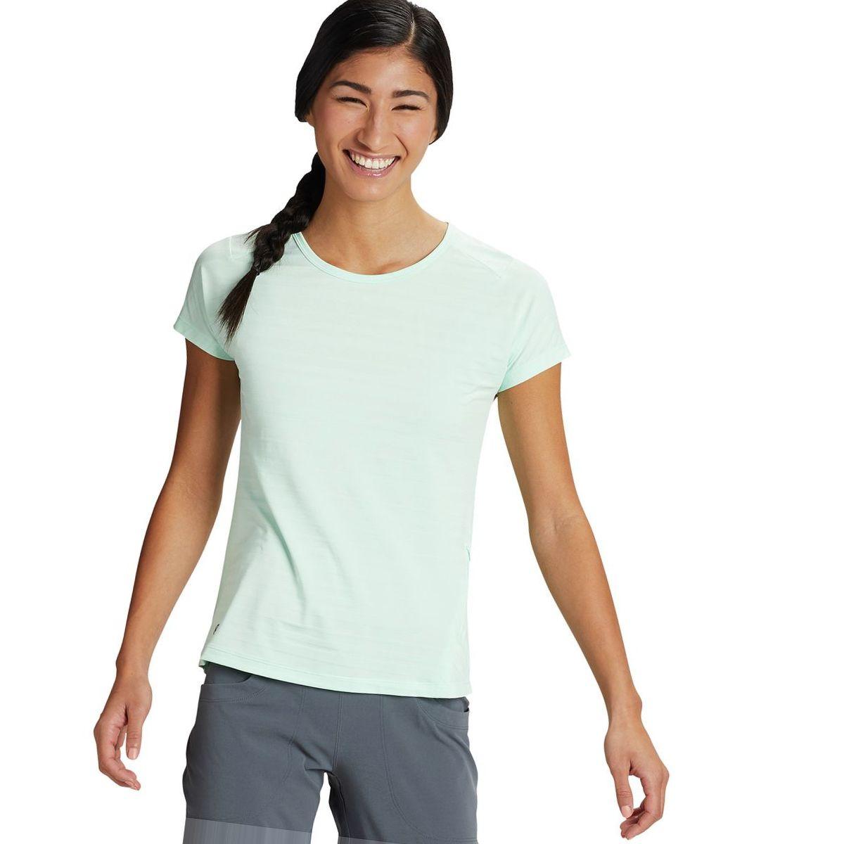 Mountain Hardwear Mighty Stripe Short-Sleeve T-Shirt - Women's