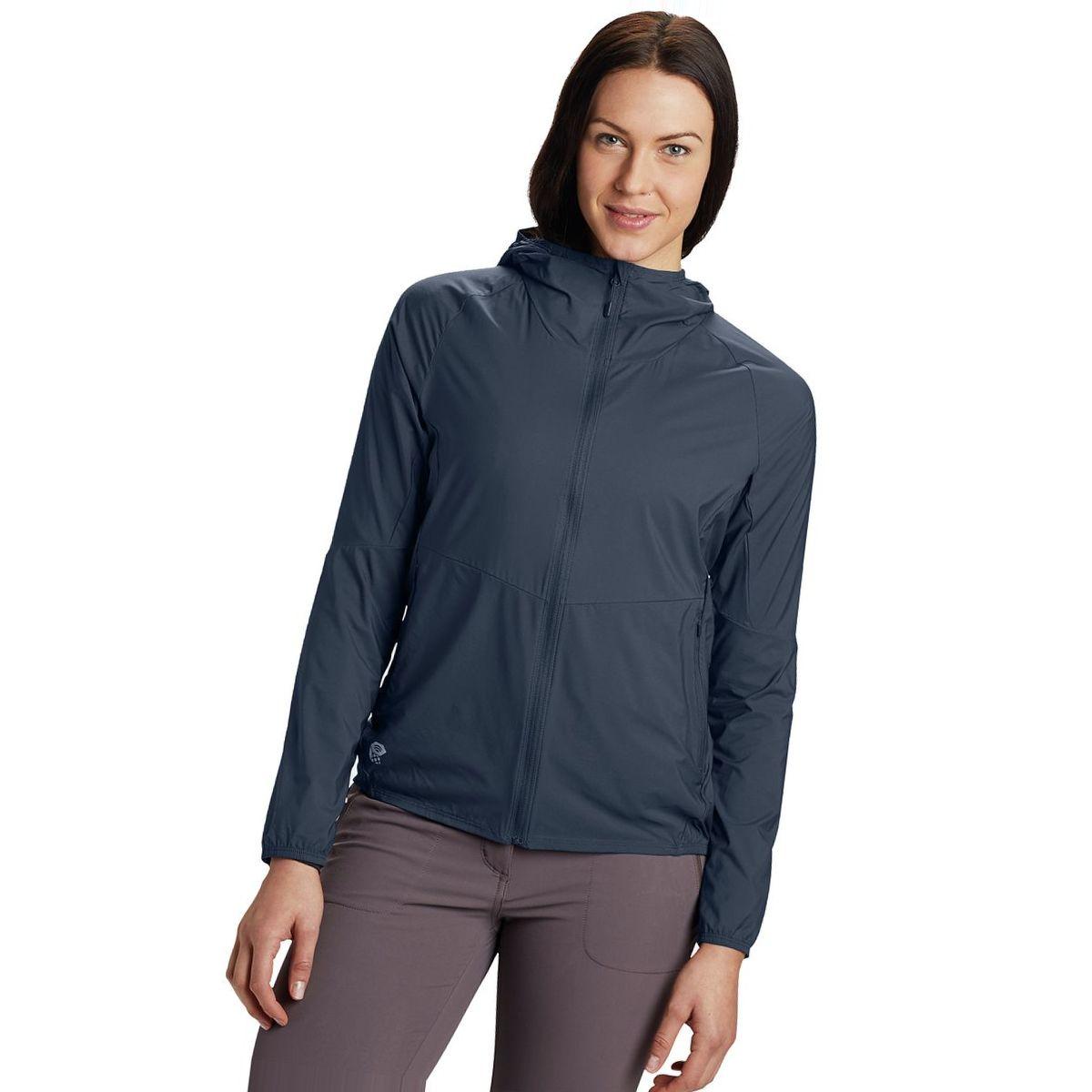 Mountain Hardwear Kor Preshell Hooded Jacket - Women's