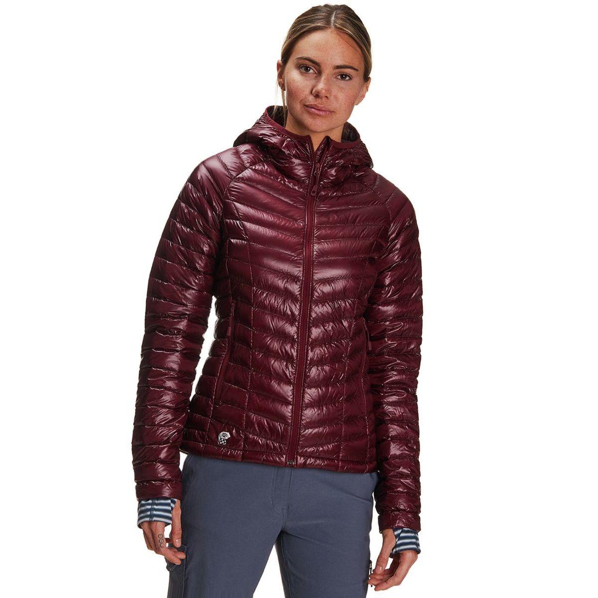Mountain Hardwear Ghost Whisperer Hooded Down Jacket - Women's