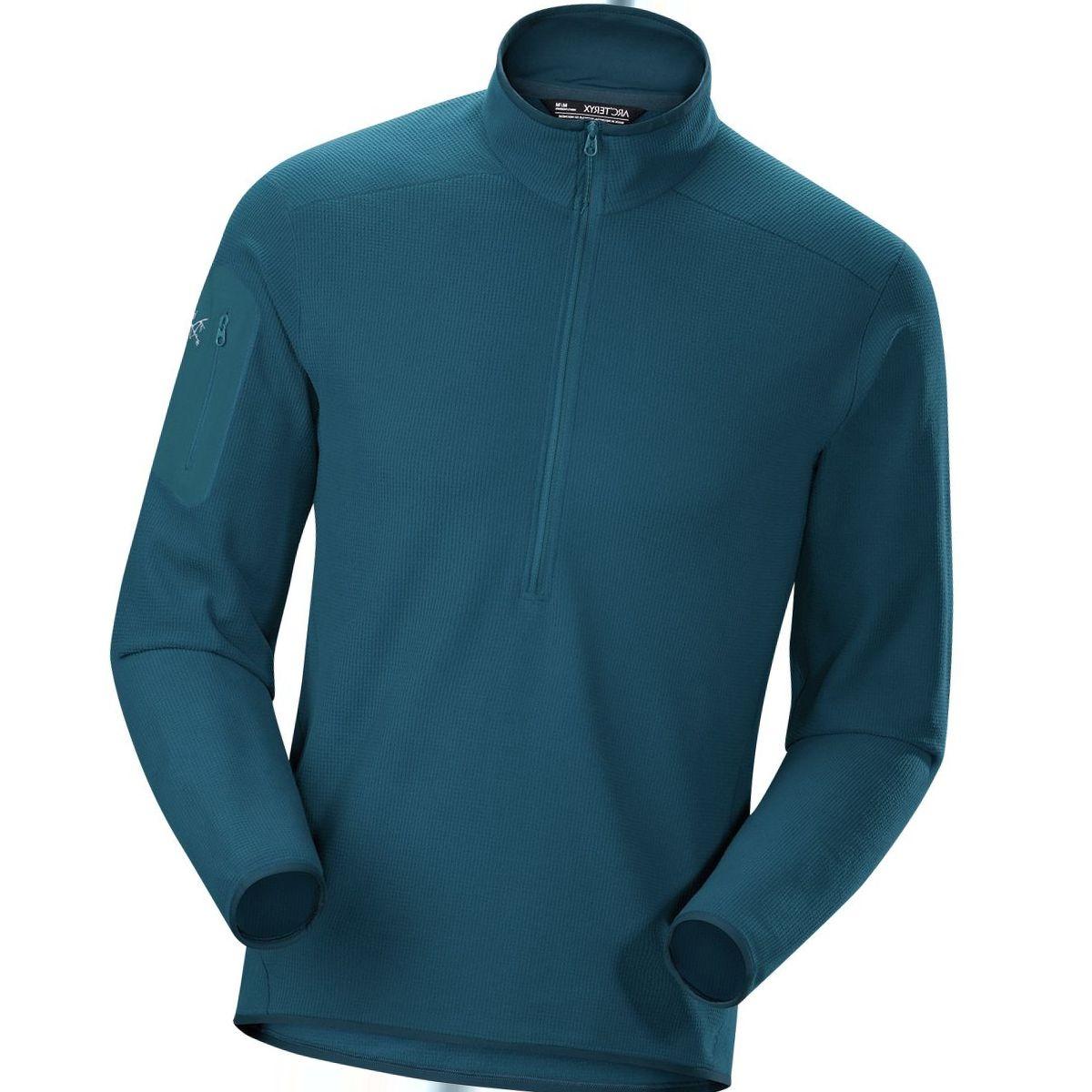 Arc'teryx Delta LT Zip-Neck Fleece Pullover - Men's
