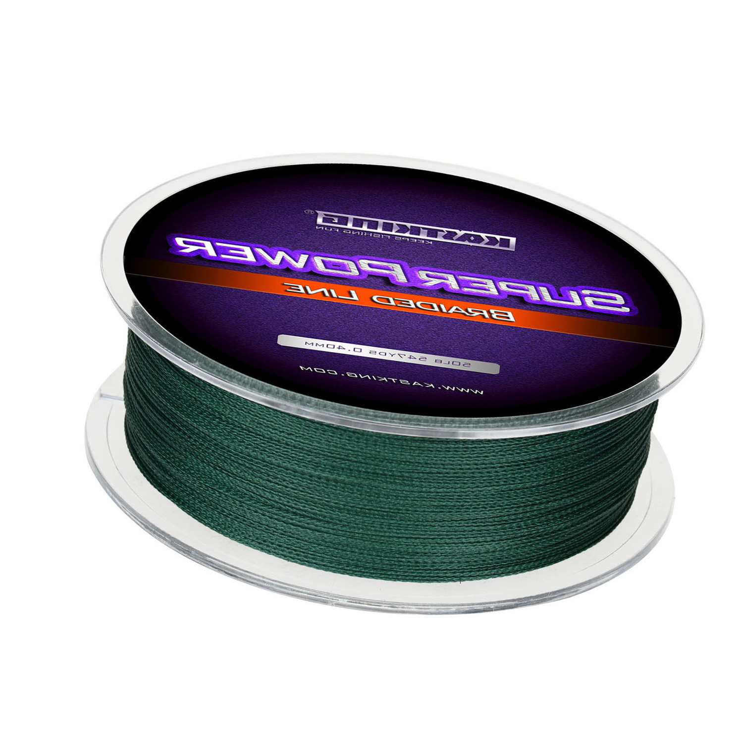 KastKing SuperPower Green Braided Fishing Line