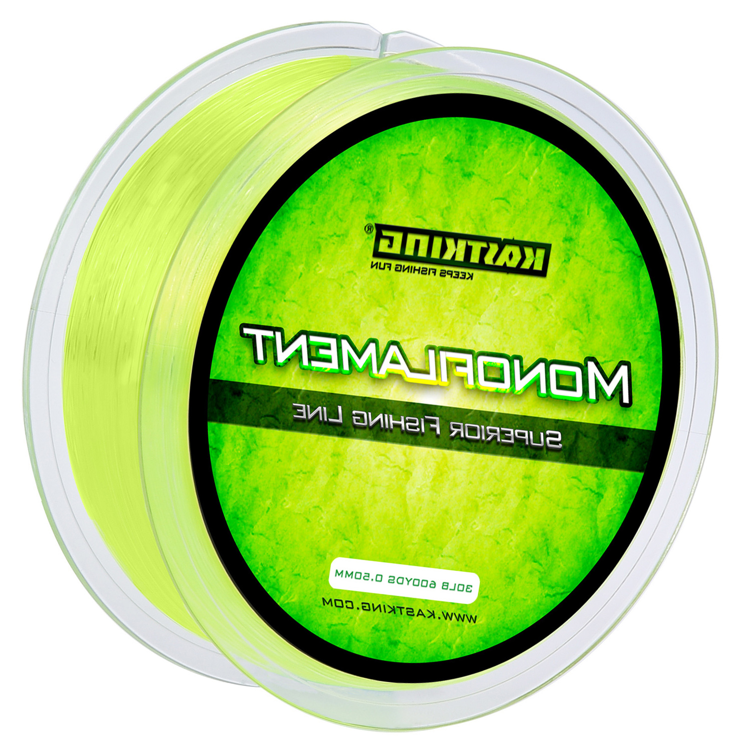 KastKing Yellow Premium Monofilament Fishing Line