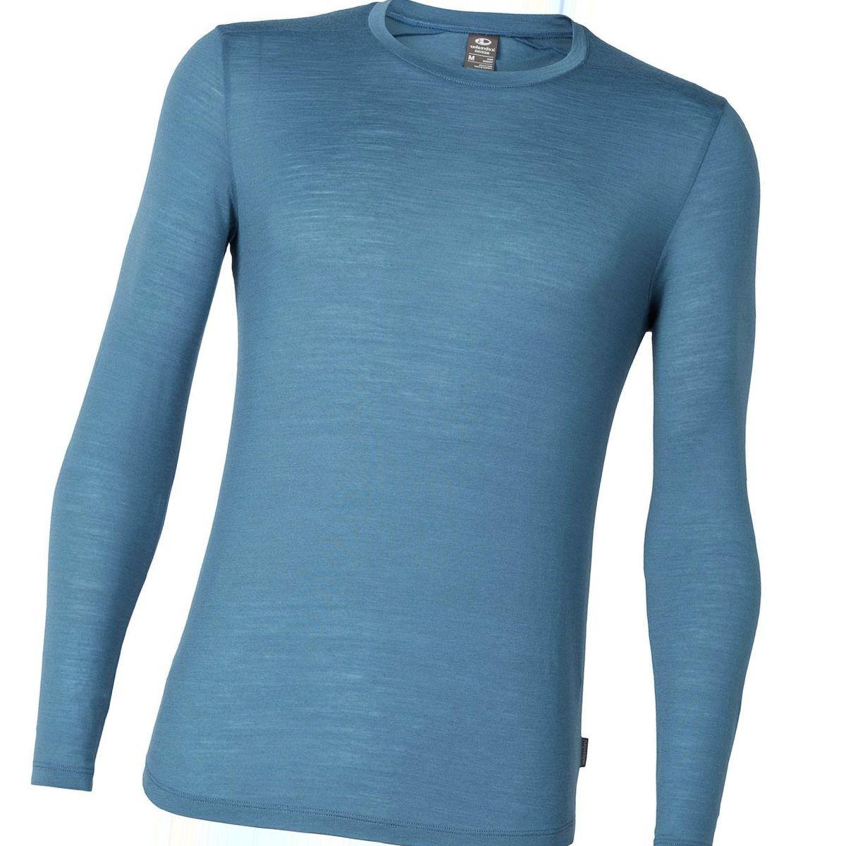 Icebreaker Sphere Long-Sleeve Crewe Shirt - Men's