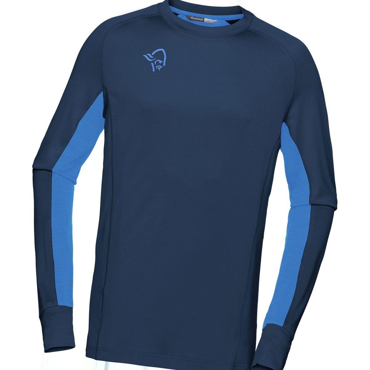 Norrona Fjora Powerwool Long-Sleeve Shirt - Men's