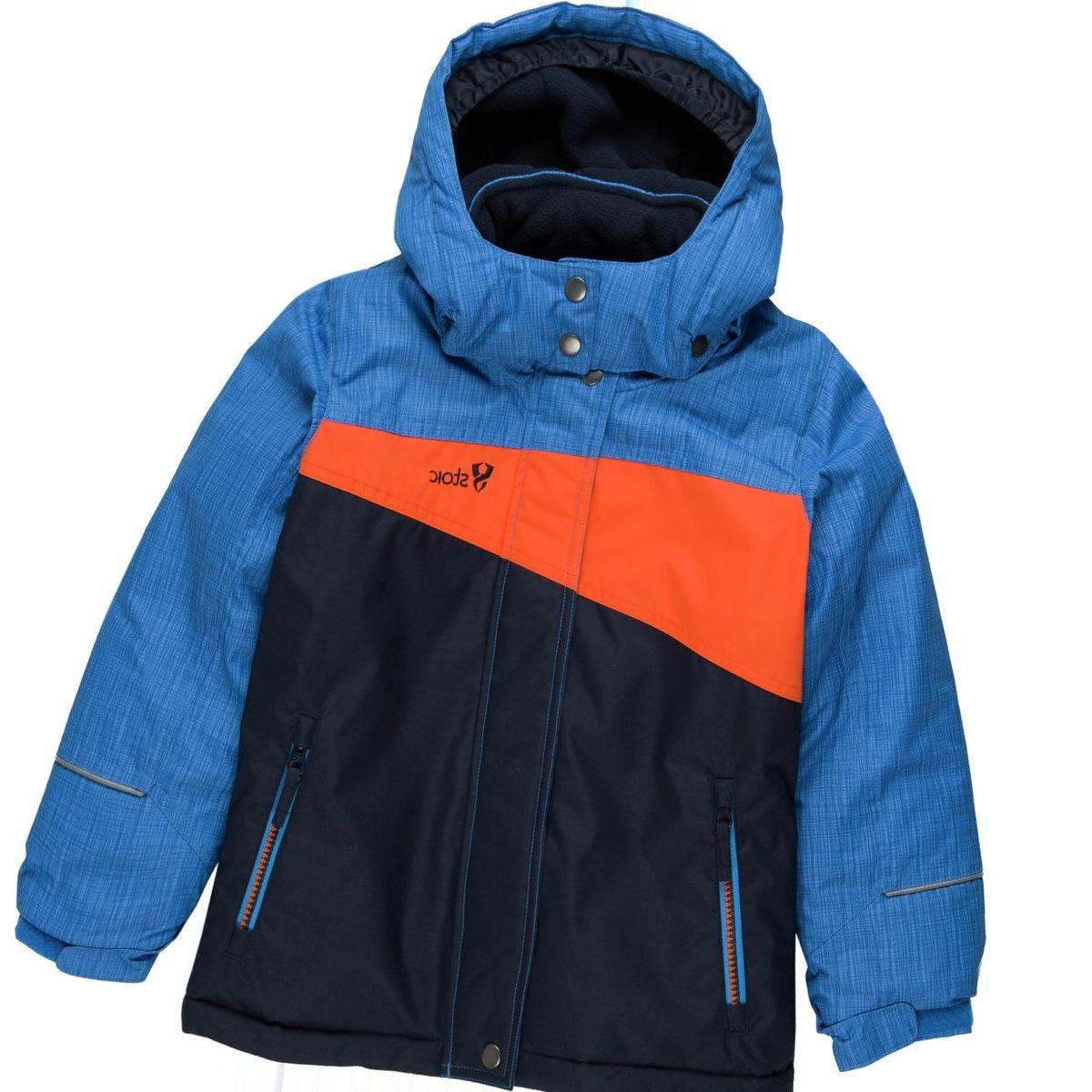 Stoic Bomber Colorblock Ski Jacket - Boys'