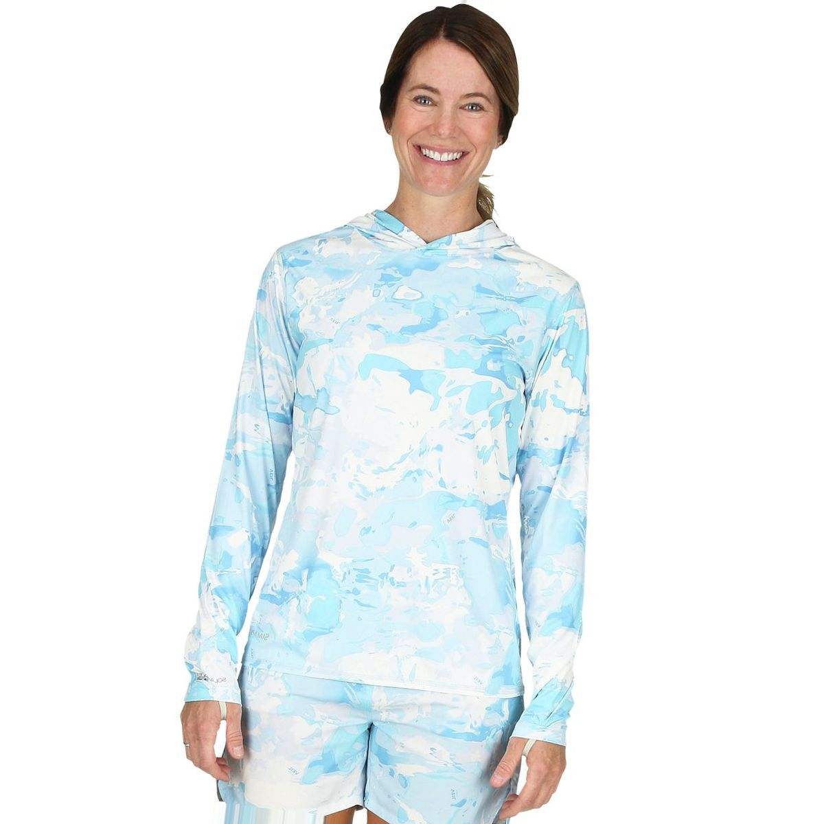 Simms Solarflex Hooded Print Shirt - Women's