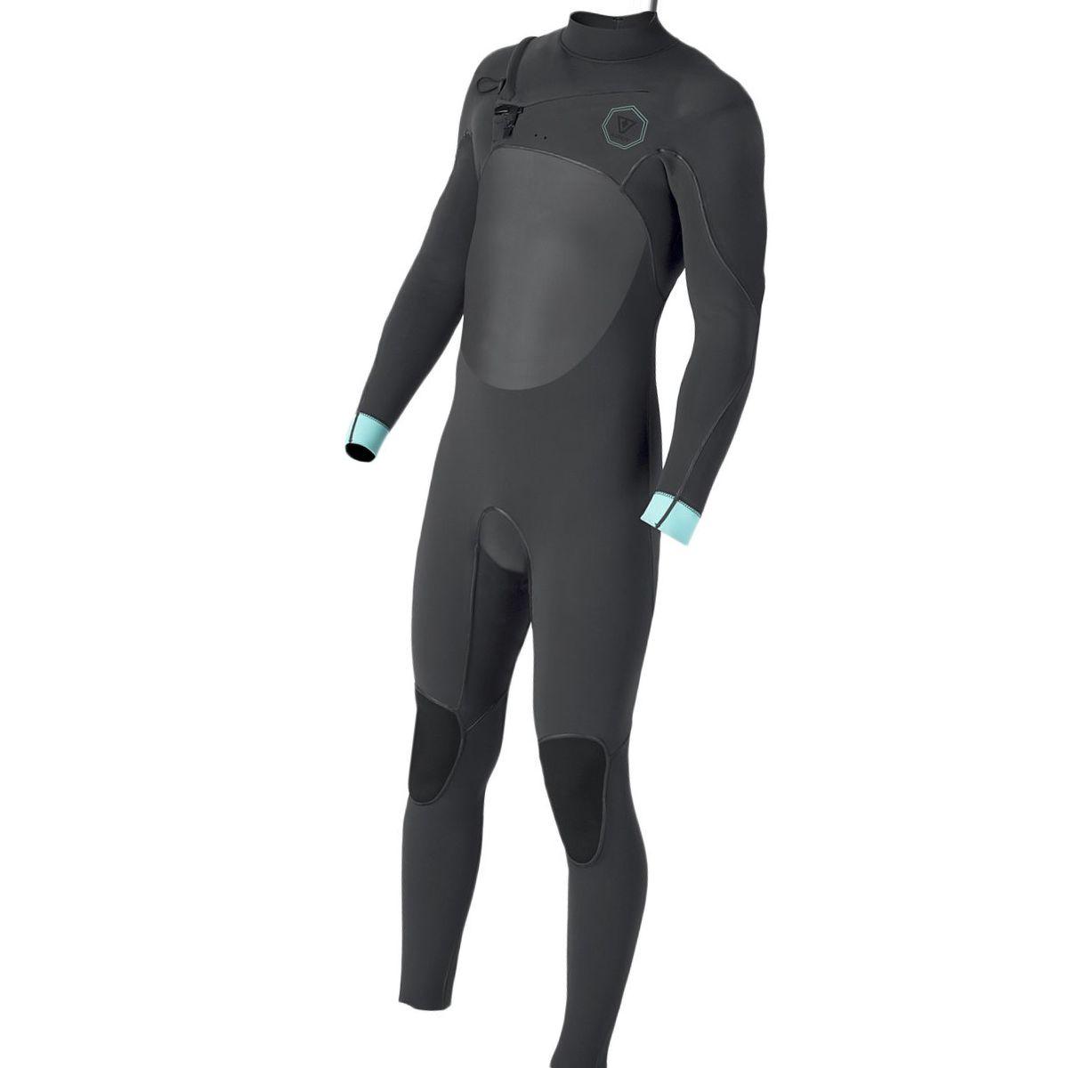Vissla North Seas 3/2 Long-Sleeve Chest-Zip Full Wetsuit - Men's