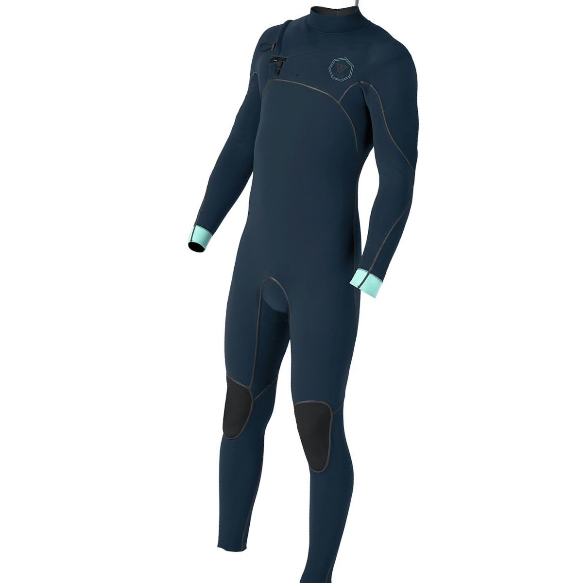 Vissla North Seas 3/2 Long-Sleeve Chest-Zip Full Wetsuit - Men's