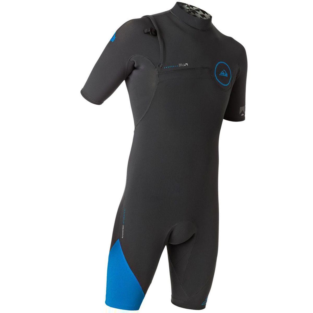 Quiksilver 2/2 Highline Zipperless Short-Sleeve Spring Wetsuit - Men's