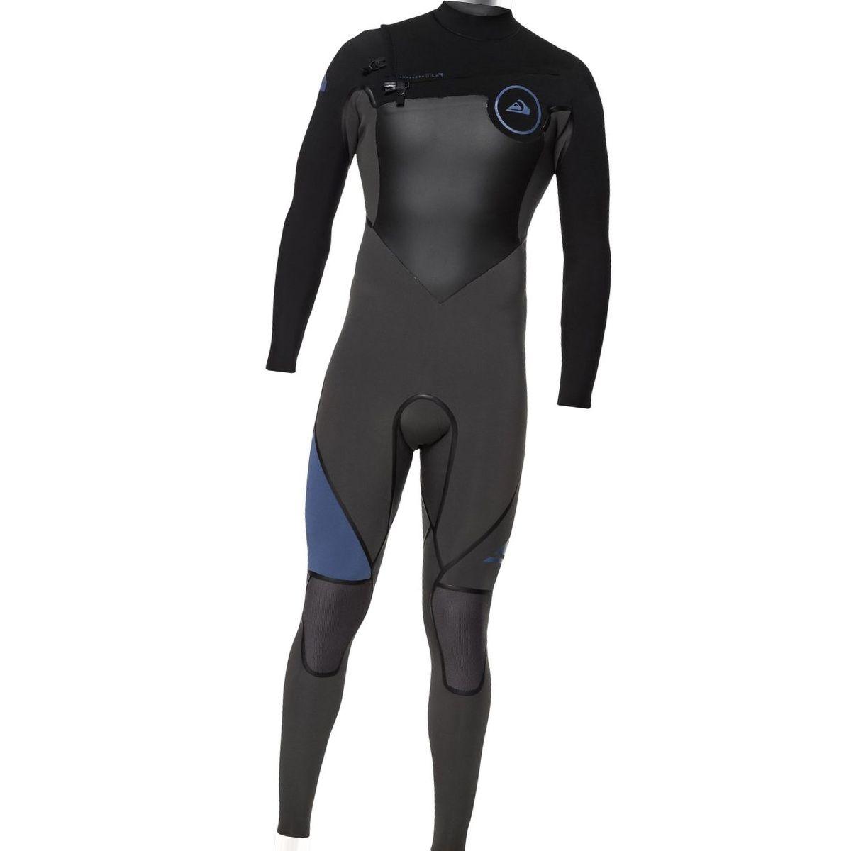 Quiksilver 3/2 Syncro Plus Chest Zip LFS Wetsuit - Men's