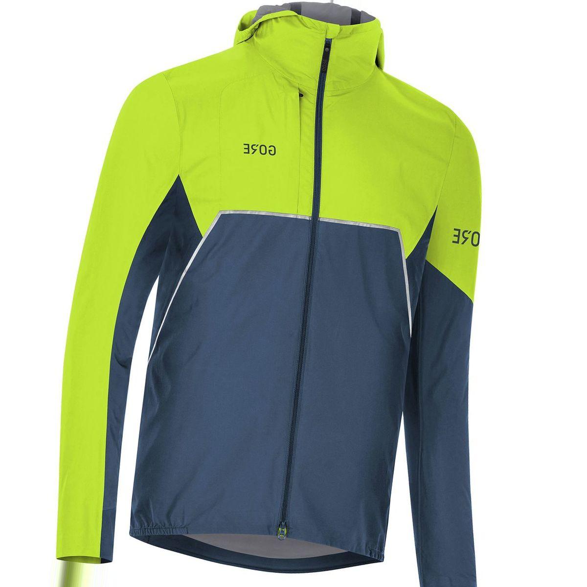 Gore Wear R7 Partial Gore-Tex Infinium Hooded Jacket - Men's