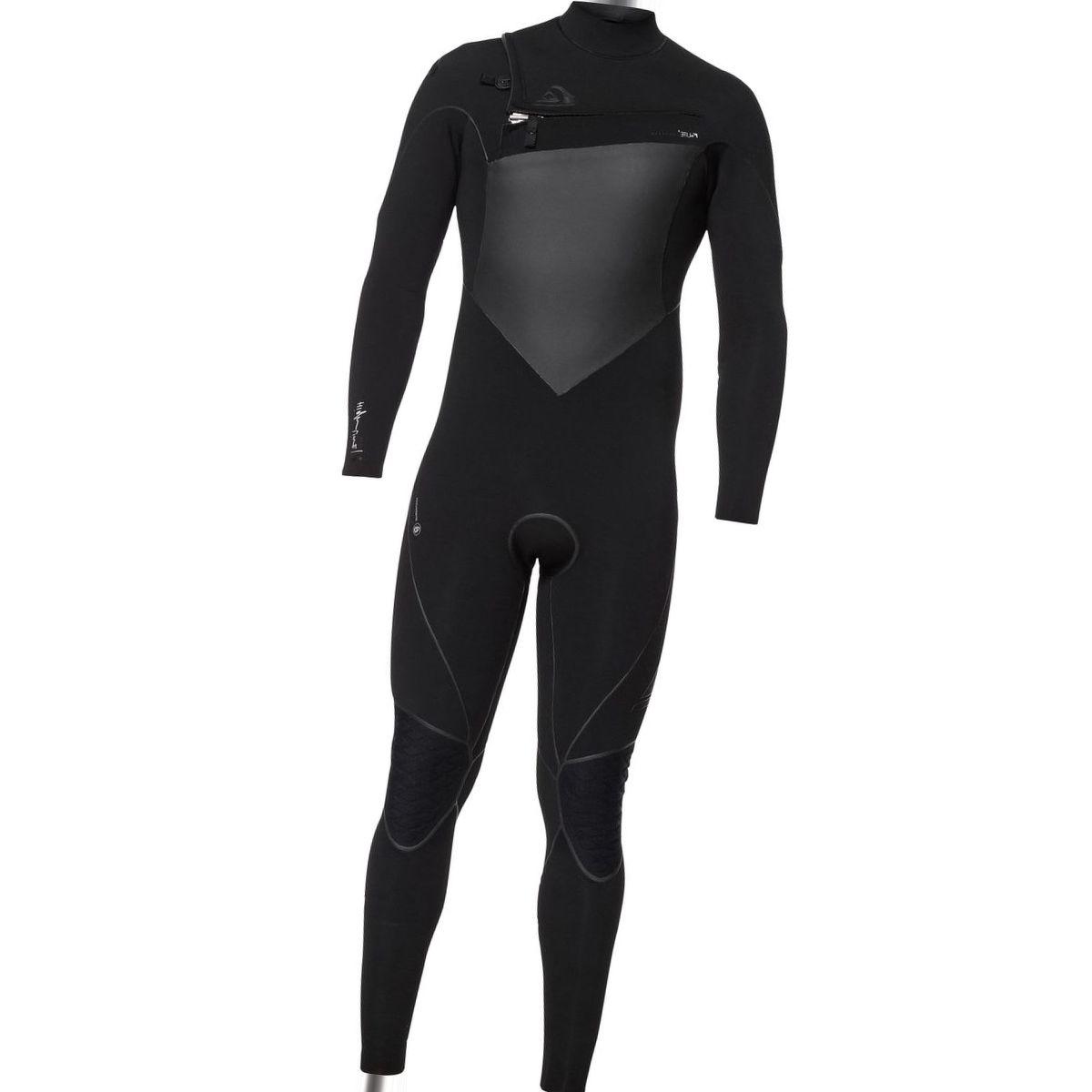 Quiksilver 3/2 Highline Plus Chest-Zip Hydrolock Wetsuit - Men's