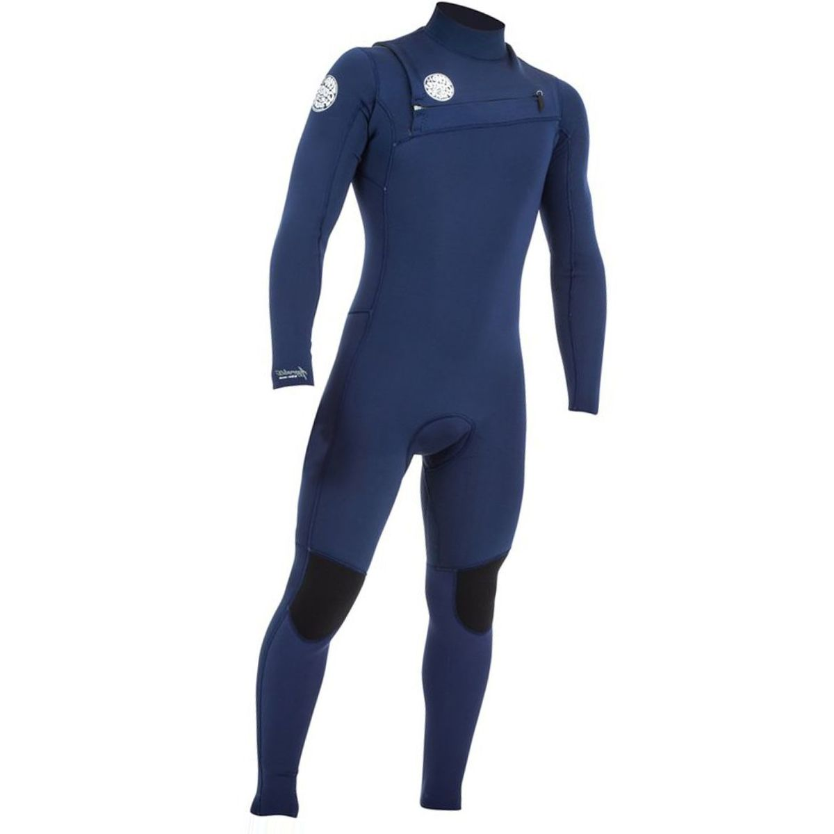 Rip Curl Aggrolite 3/2 GB Chest-Zip Full Wetsuit - Men's