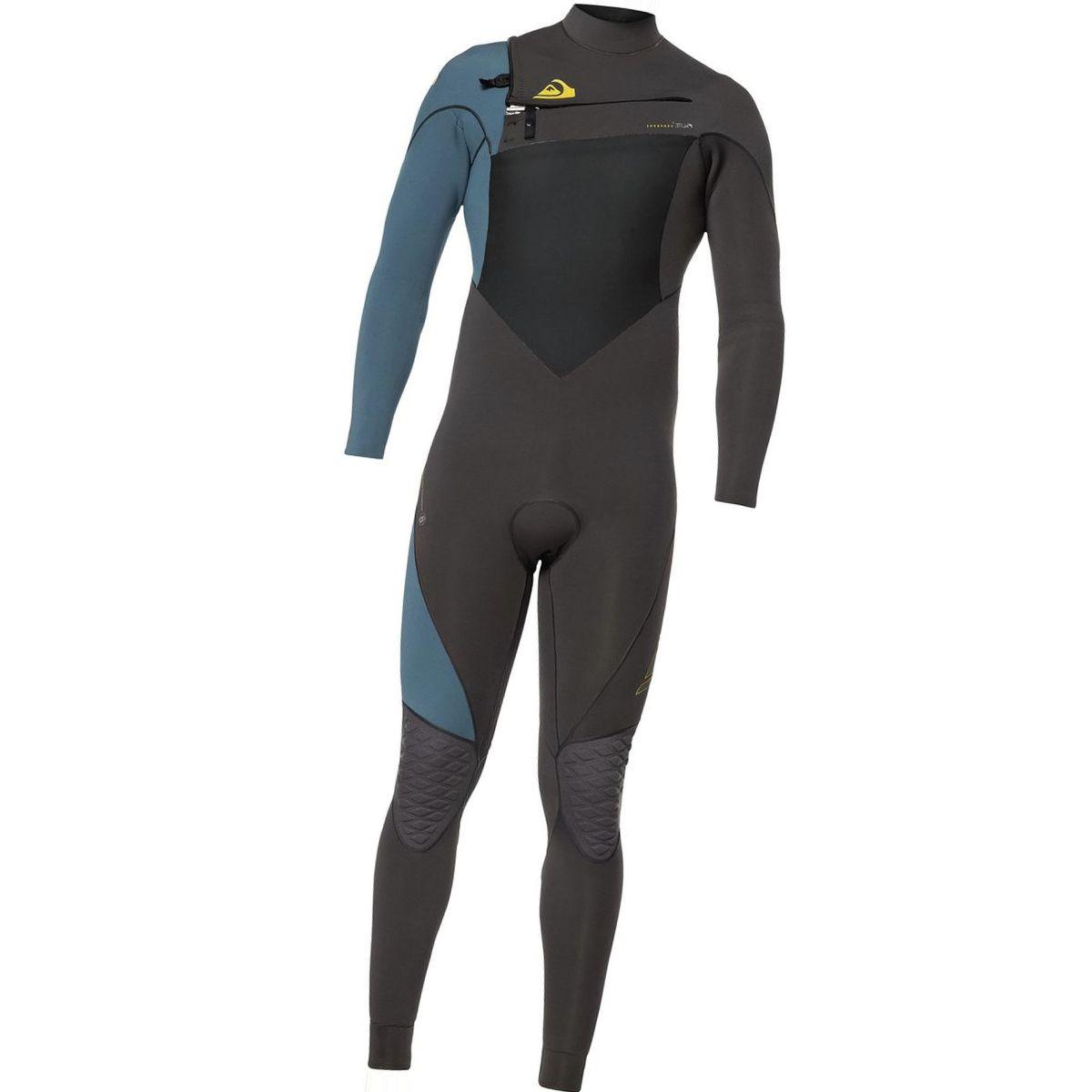 Quiksilver 4/3 Highline Plus Chest-Zip Hydrolock Wetsuit - Men's