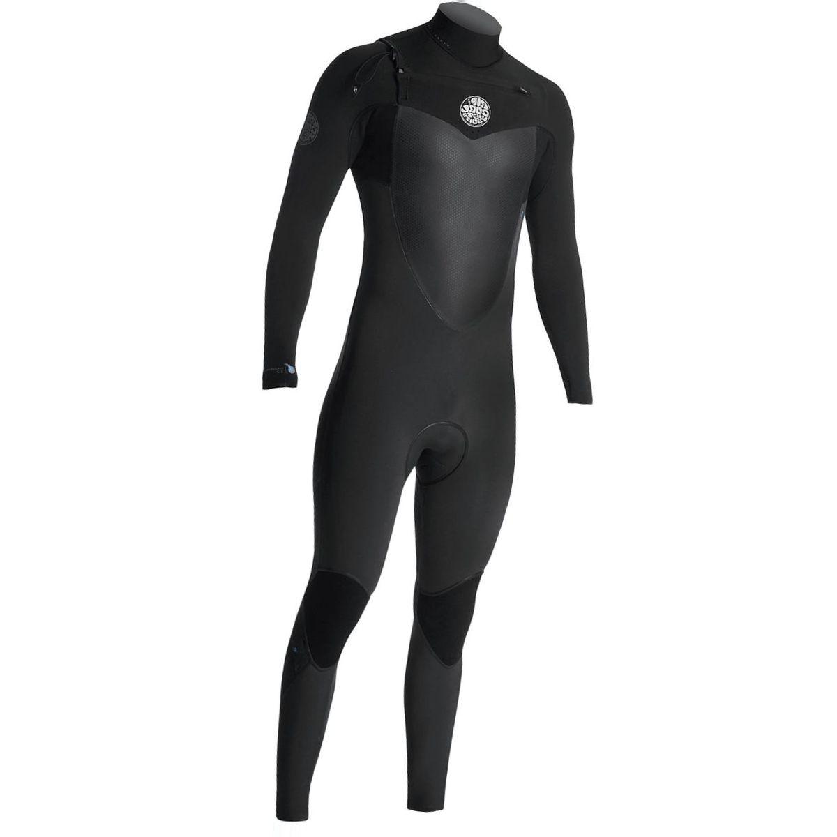 Rip Curl Flashbomb 4/3 GB Chest-Zip Full Wetsuit - Men's