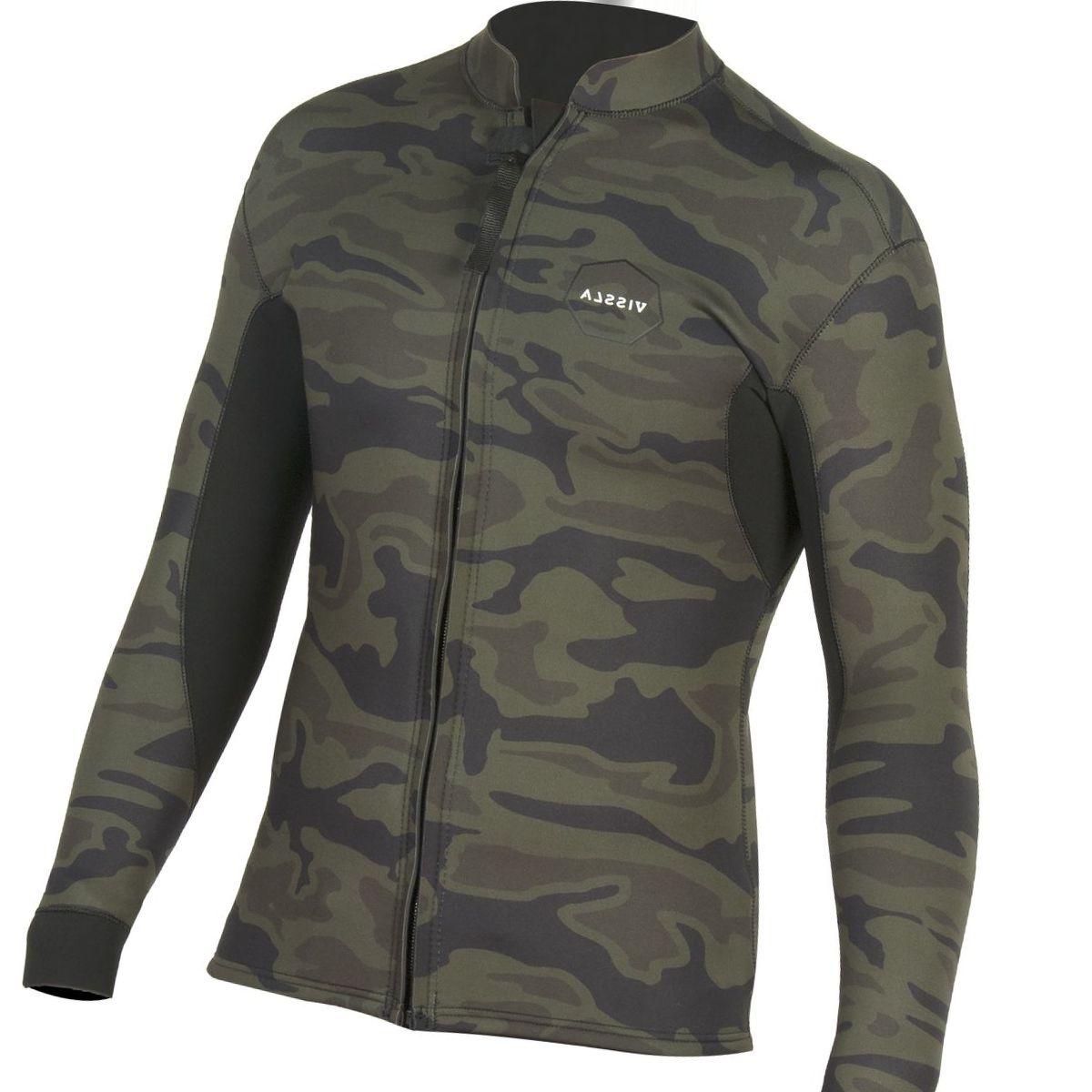 Vissla Front Zip 2mm Jacket - Men's