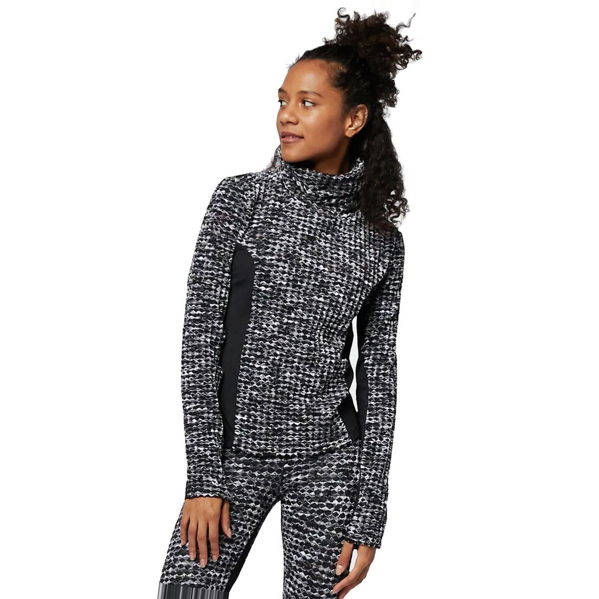 Nike Pro HyperWarm Long-Sleeve Brushed Top - Women's