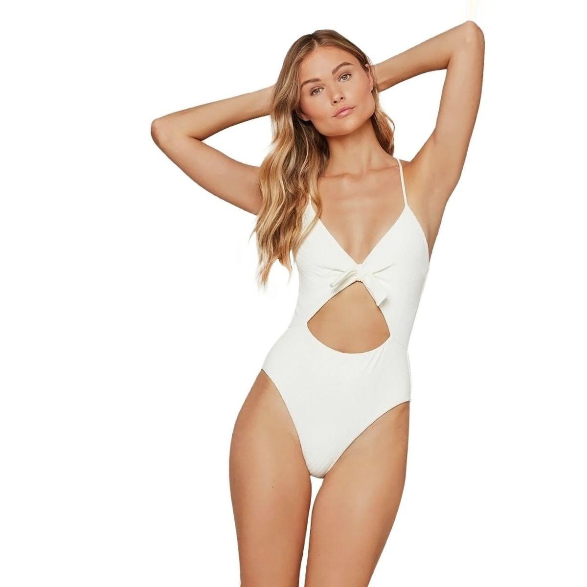 L Space Crossroads Texture Miss Molly One-Piece Swim Suit - Women's