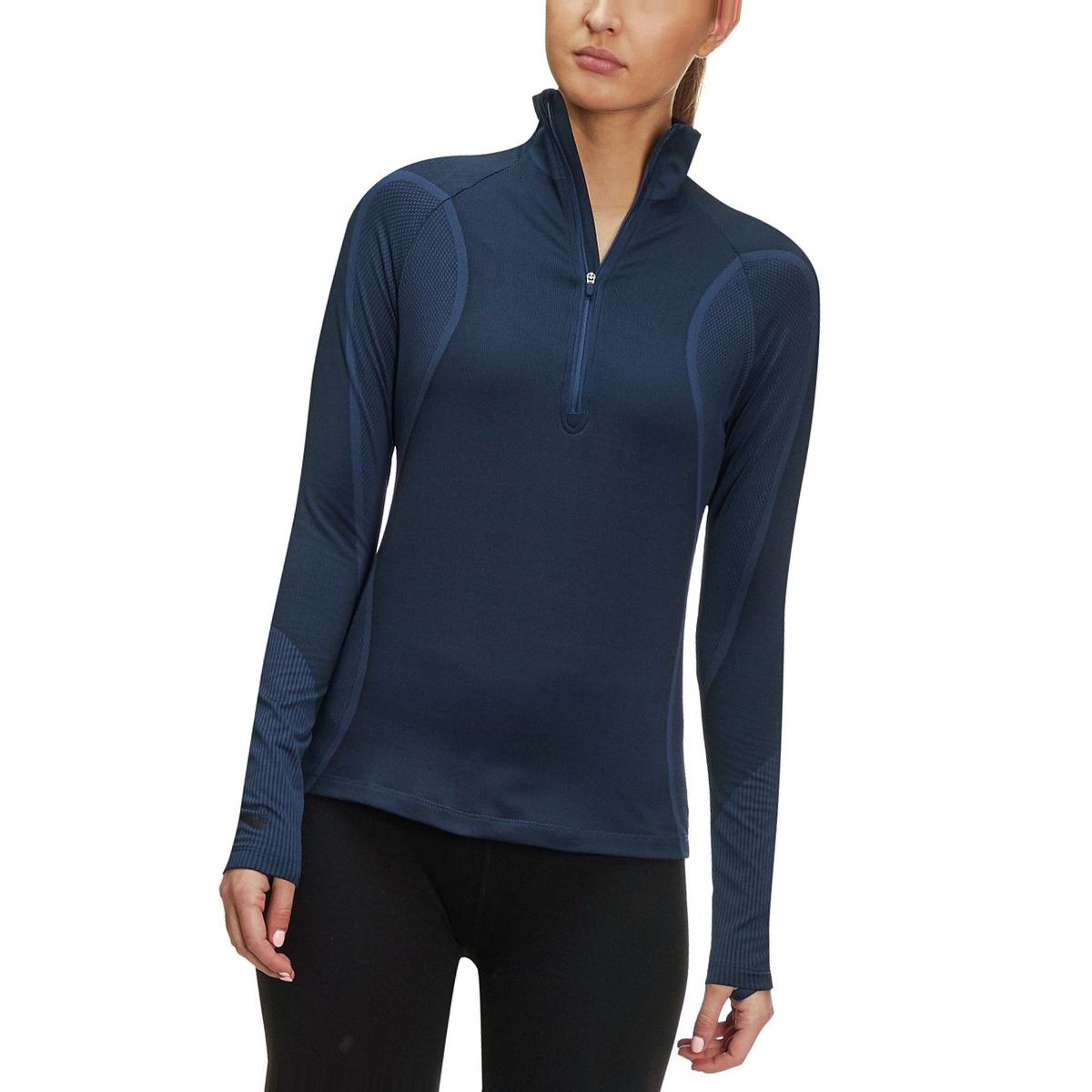 Nike Pro HyperWarm Long-Sleeve 1/2-Zip Top - Women's