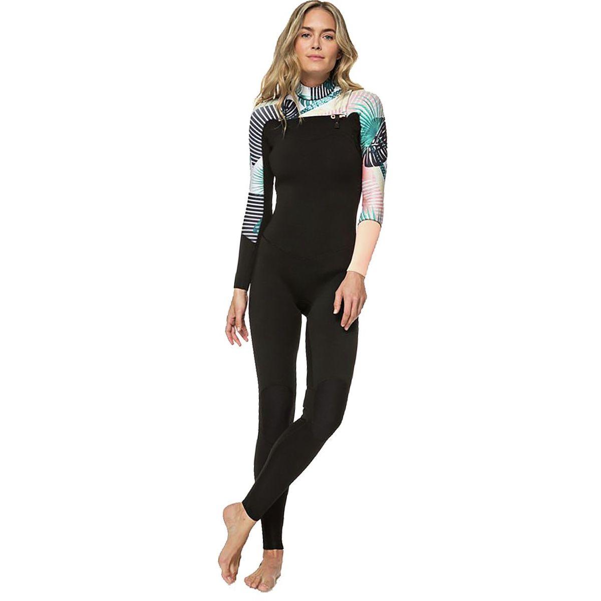 Roxy 3/2 Popsurf Full Zip GBS Wetsuit - Women's