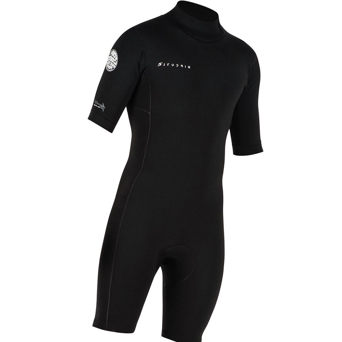 Rip Curl Aggrolite 2/2 Back-Zip Short-Sleeve Spring Wetsuit - Men's