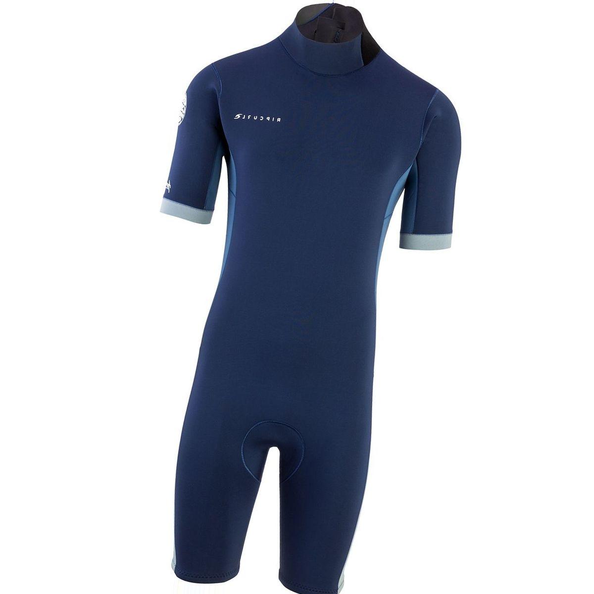 Rip Curl Aggrolite 2/2 Back-Zip Short-Sleeve Spring Wetsuit - Men's