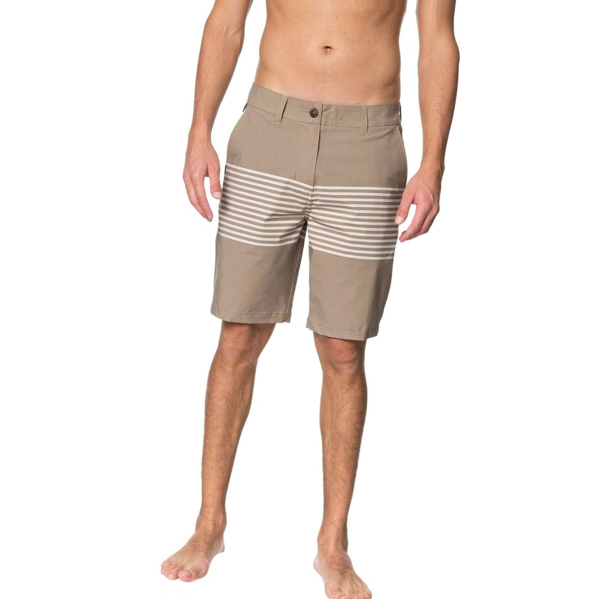 Quiksilver Echo Stripe Amphibian 20in Short - Men's