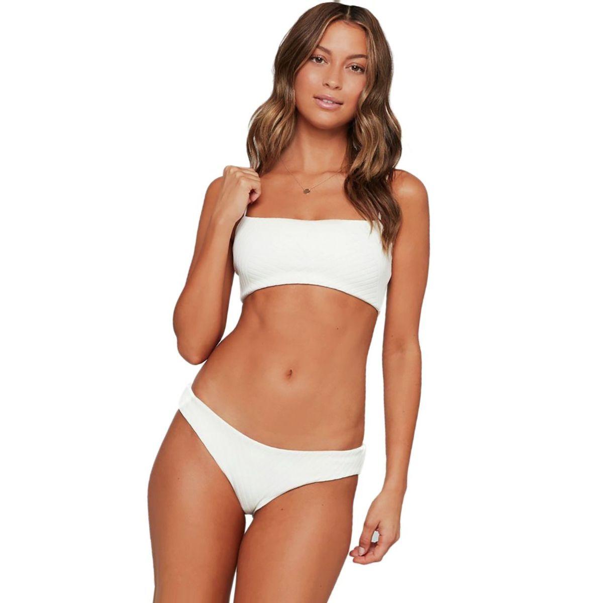 L Space Crossroads Texture Sandy Bikini Bottom - Women's