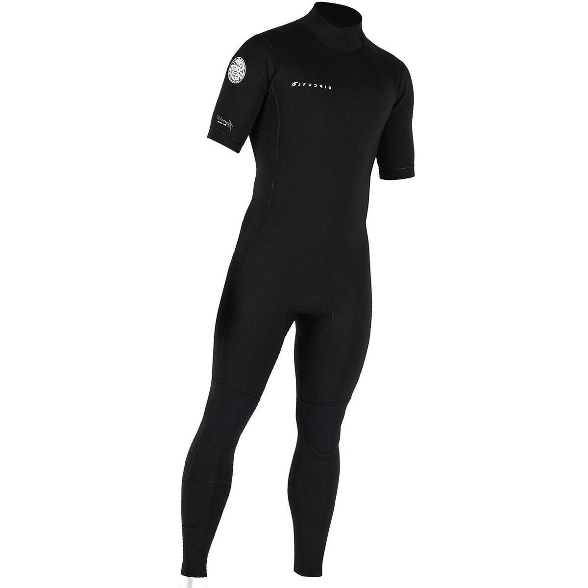 Rip Curl Aggrolite Short-Sleeve Full Back-Zip Westsuit - Men's