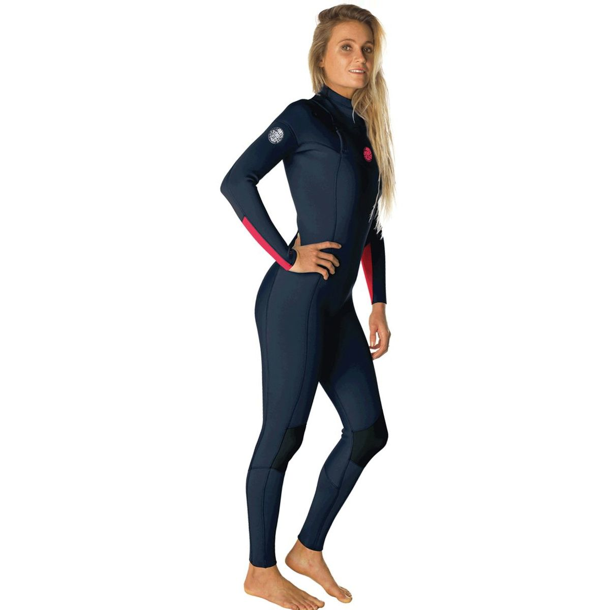 Rip Curl Dawn Patrol 3/2 Chest-Zip Full Wetsuit - Women's