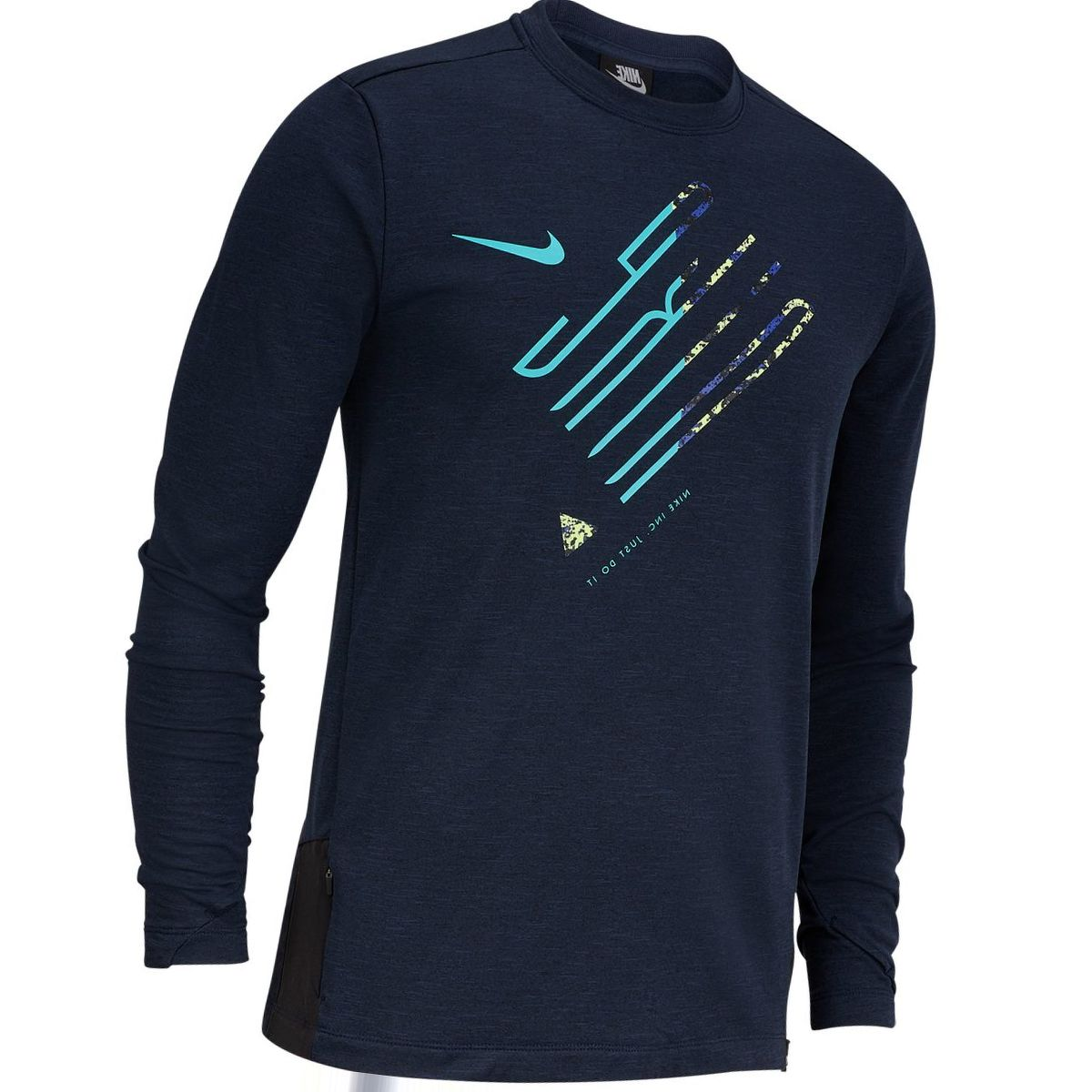 Nike Sphere Element Crew Wild Long-Sleeve Running Shirt - Men's