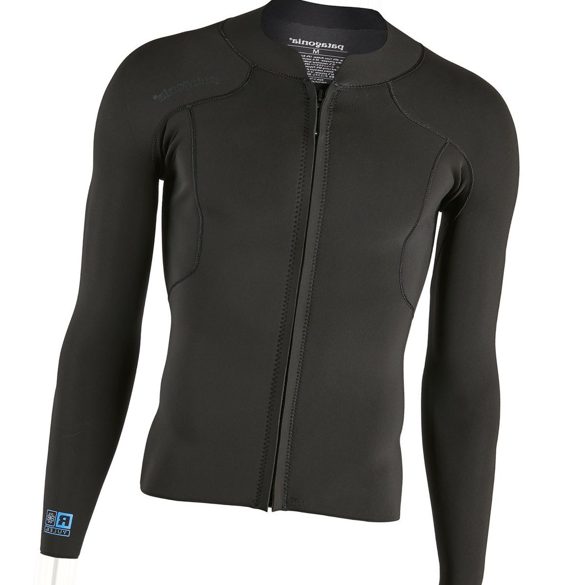 Patagonia R1 Lite Yulex Front-Zip Long-Sleeve Top - Men's
