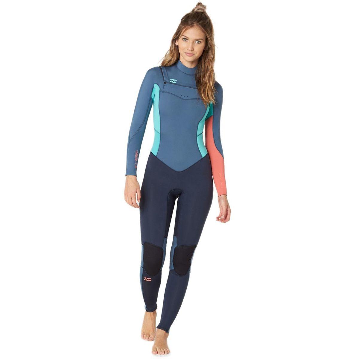 Billabong 4/3 Furnace Synergy Chest-Zip Full Wetsuit - Women's