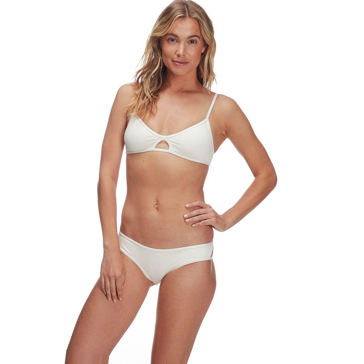 L Space Sensual Solids Rachel Classic Bikini Bottom - Women's