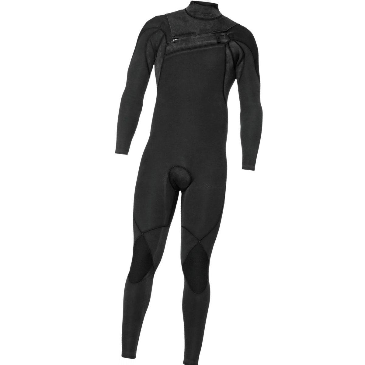 Quiksilver 4/3 Monochrome GBS A-Zip Steamer Wetsuit - Men's