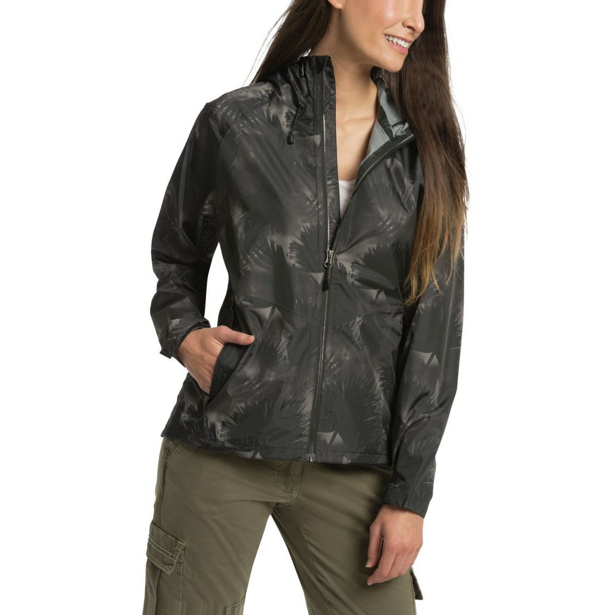 Basin and Range Spiro Rain Jacket - Women's