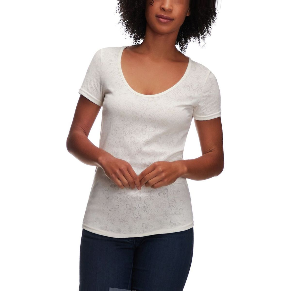 Basin and Range Silver Star Short-Sleeve Top - Women's