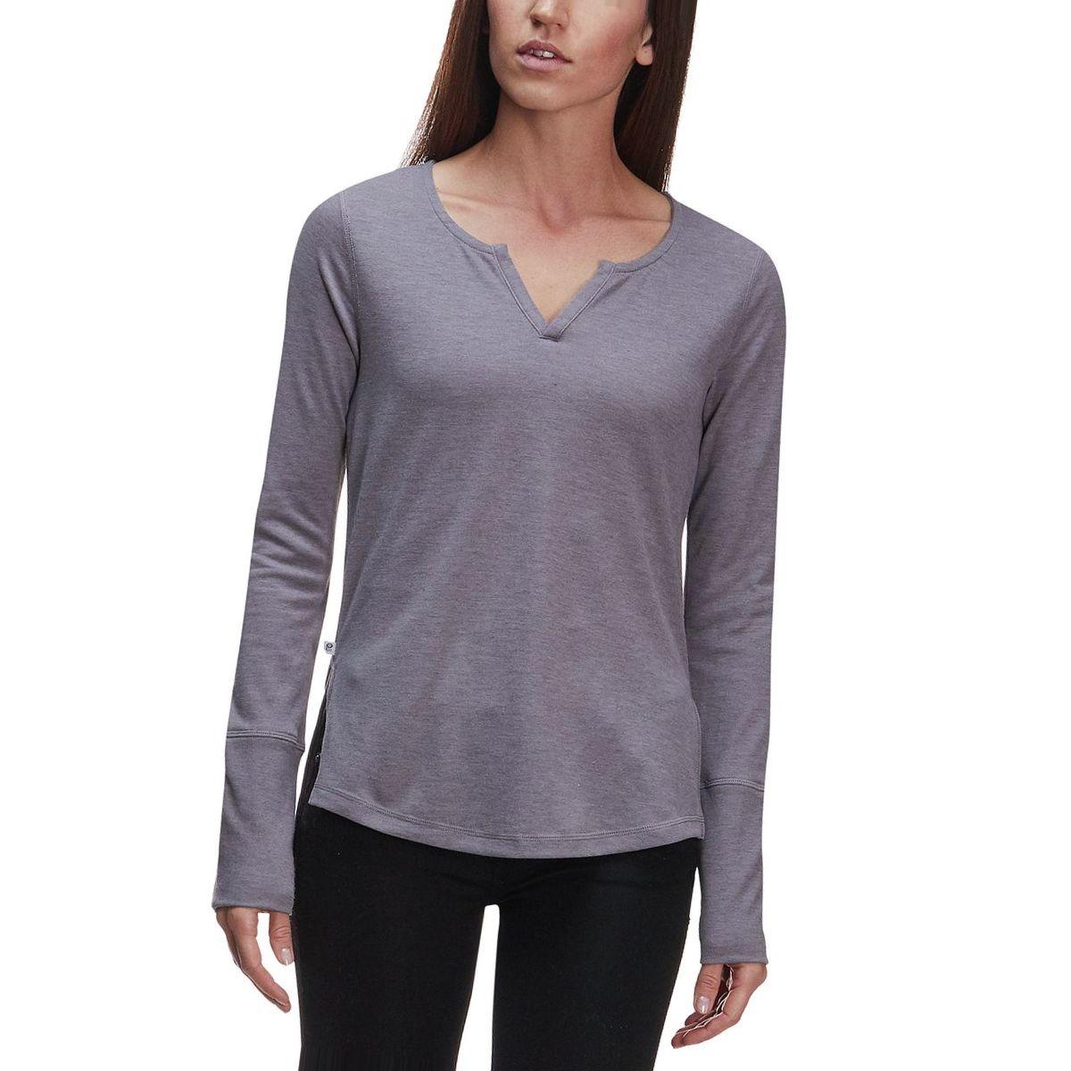 Mountain Hardwear Daisy Chain Split-Neck Long-Sleeve Top - Women's