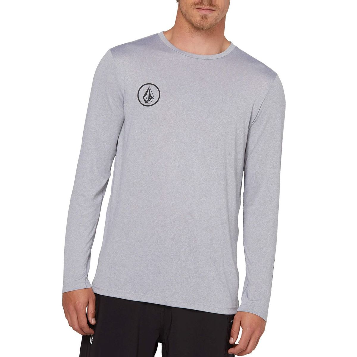 Volcom Lido Heather Long-Sleeve Rashguard - Men's