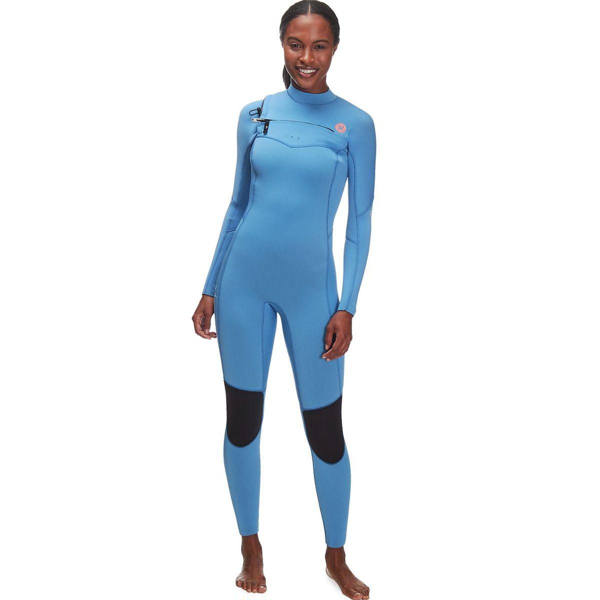 Sisstr Revolution 7 Seas 4/3mm Chest-Zip Long-Sleeve Full Wetsuit - Women's