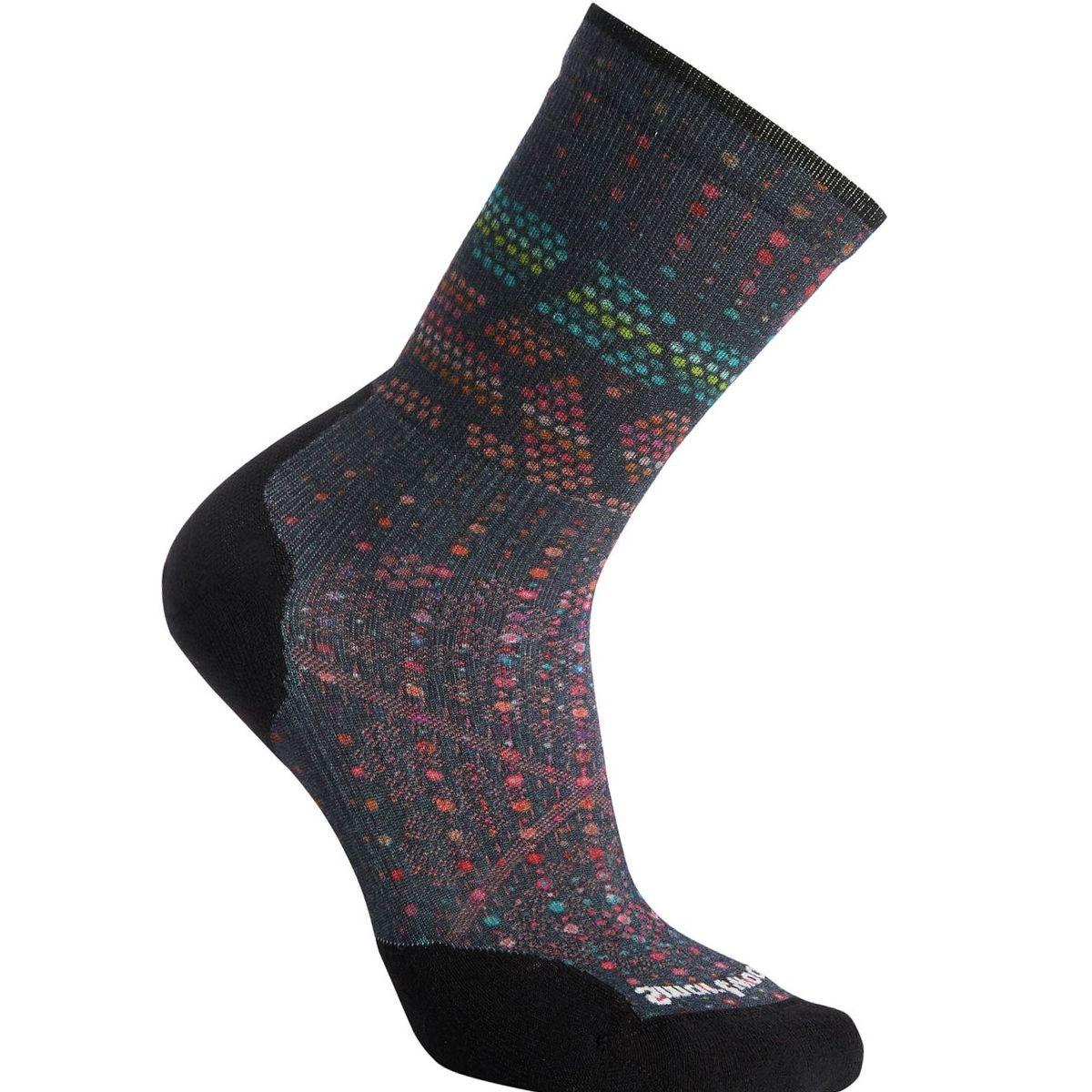 Smartwool PhD Run Light Elite Print Crew Sock - Women's