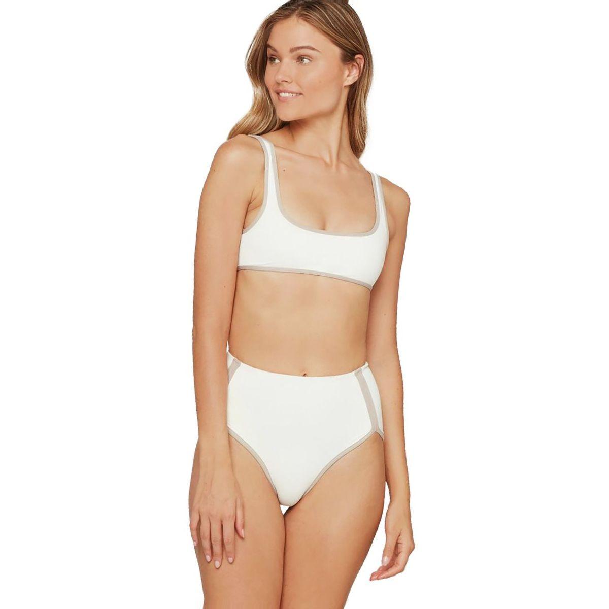 L Space Cali Cut Color Block Bikini Bottom - Women's