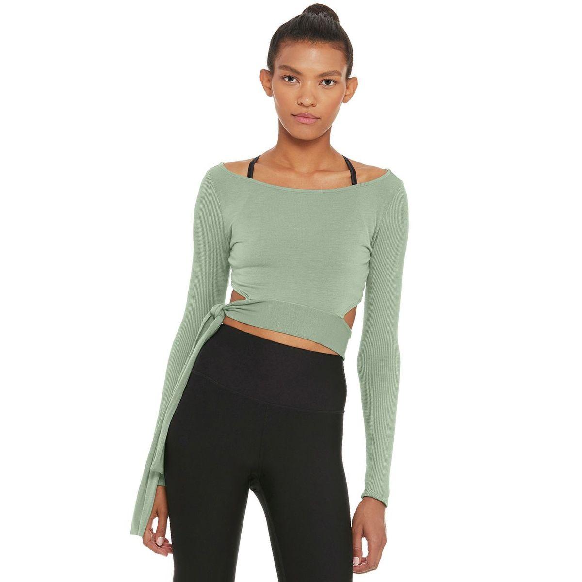Alo Yoga Barre Long-Sleeve Top - Women's