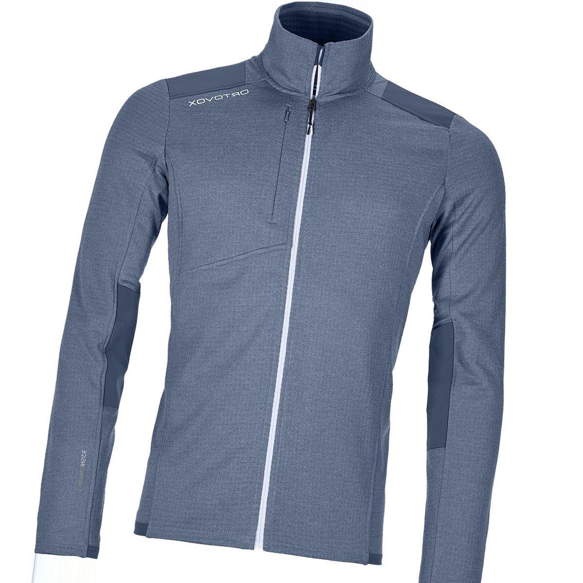 Ortovox Fleece Light Grid Jacket - Men's